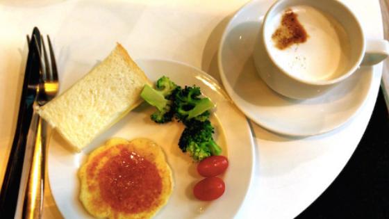 タイのラウンジ@朝食