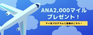 ANA2,000マイル プレゼント-2