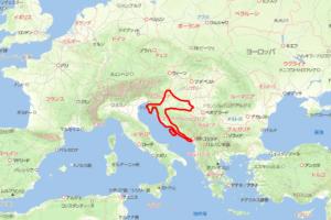 クロアチア地図